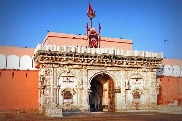 Karni Mata temple outside pic