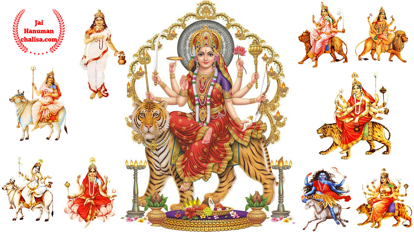 Wallpaper download navratri - 9 Goddesses Of Navratri Images