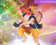 Gajanan Bhagwan HD Wallpaper