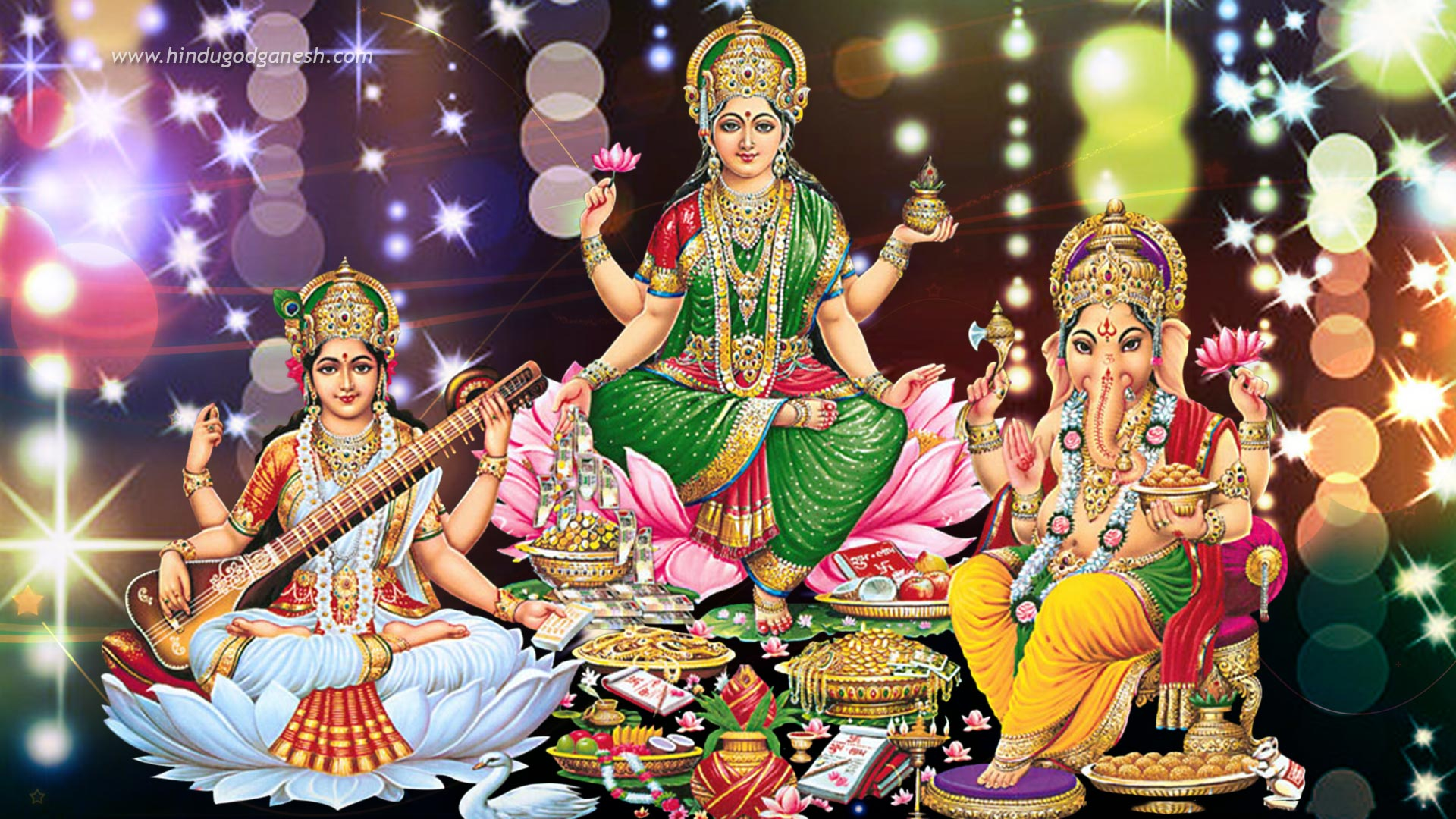 Happy Diwali Desktop Pc Laptop Hd Wallpapers Full Screen: Maa Laxmi Wallpaper Full Size Download For Desktop