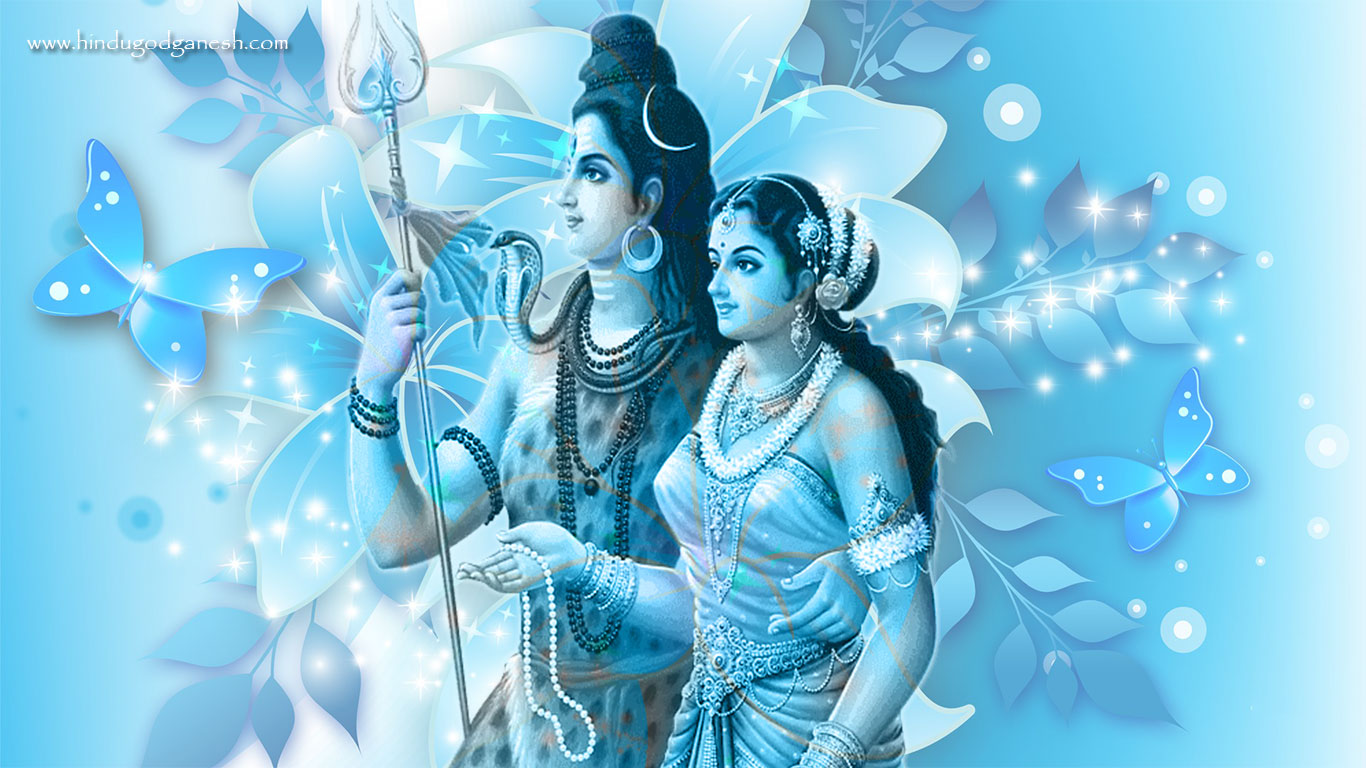 Shiv parvati love image
