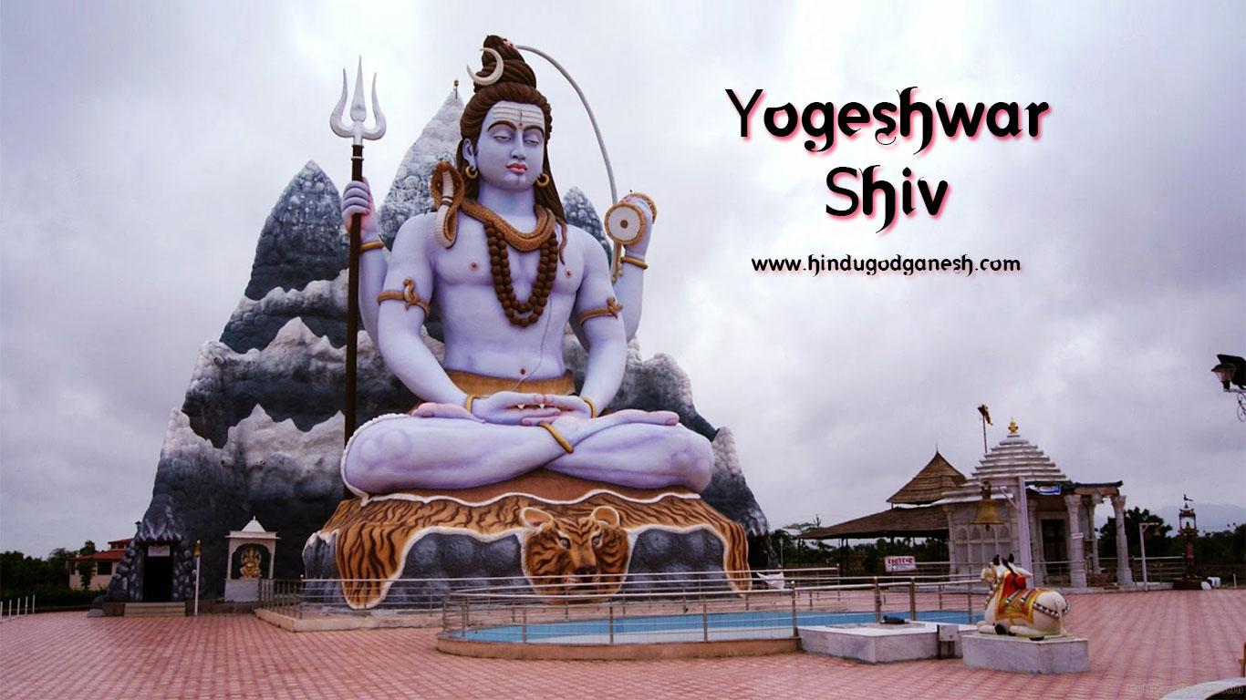Yogeshwar Shiva Statue Wallpaper Free Download